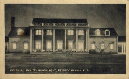 Colonial Inn - Penney Farms, Florida FL Postcard