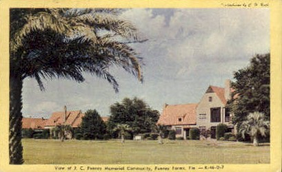 Penney Memorial Community - Penney Farms, Florida FL Postcard