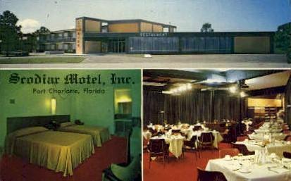 Srodiar Motel - Port Charlotte, Florida FL Postcard