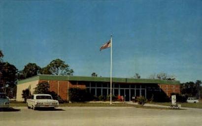 Post Office - Port Charlotte, Florida FL Postcard