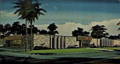 Port Charlotte Bank - Florida FL Postcard