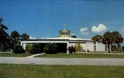 St. Charles Church - Port Charlotte, Florida FL Postcard