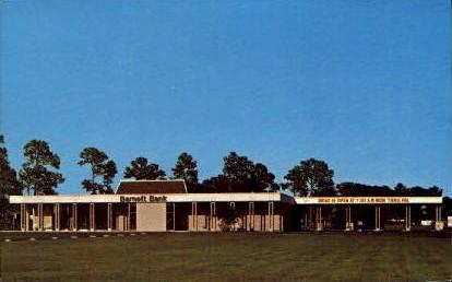 Barnett Bank - Port Charlotte, Florida FL Postcard