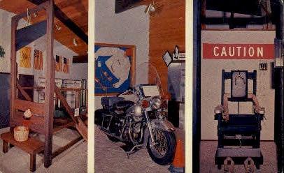 National Police Museum - Port Charlotte, Florida FL Postcard