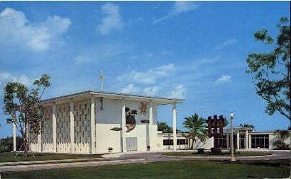 Lady of Florida Passionist - Palm Beach Postcard