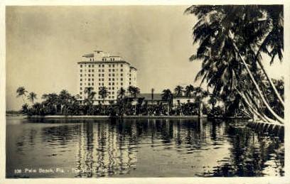 The White Hall - Palm Beach, Florida FL Postcard