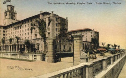 Breakers Hotel - Palm Beach, Florida FL Postcard