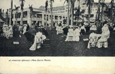 Midwinter Afternoon - Palm Beach, Florida FL Postcard