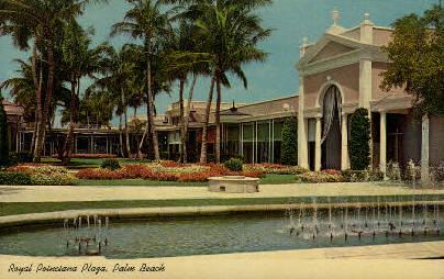The Royal Poinciana, Lake Worth - Palm Beach, Florida FL Postcard