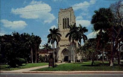 Bethesda-By-The-Sea - Palm Beach, Florida FL Postcard