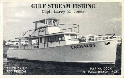 Captain Larry E. Jones - Palm Beach, Florida FL Postcard