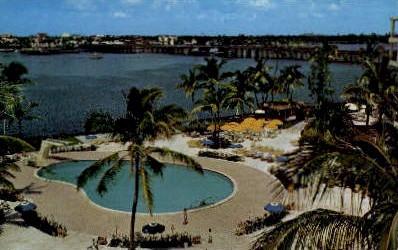 Palm Beach Towers - Florida FL Postcard
