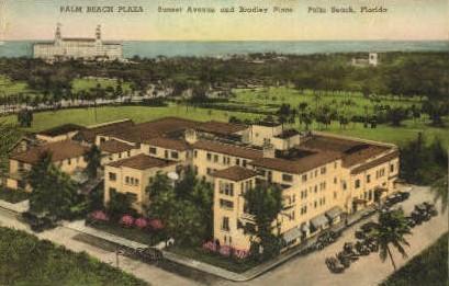 Palm Beach Plaza - Florida FL Postcard