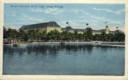 Royal Poinciana Hotel - Palm Beach, Florida FL Postcard