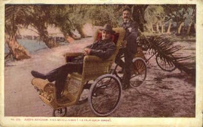 Joseph Jefferson - Palm Beach, Florida FL Postcard