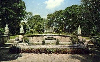 Cluett Gardens - Palm Beach, Florida FL Postcard