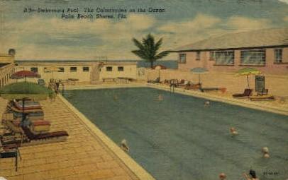 The Colonnades on the Ocean - Palm Beach, Florida FL Postcard