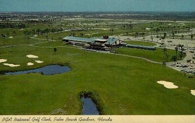 National Golf Club - Palm Beach, Florida FL Postcard