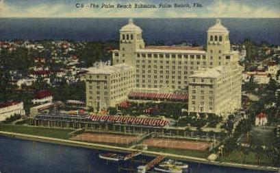 Palm Beach Biltmore - Florida FL Postcard