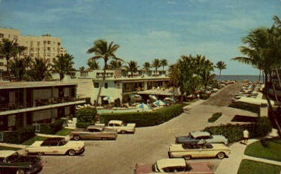Holiday Inn - Palm Beach, Florida FL Postcard