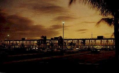 Palm Beach International Airport - Florida FL Postcard