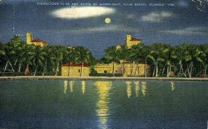 Everglades Club - Palm Beach, Florida FL Postcard