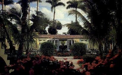 Brazilian Court - Palm Beach, Florida FL Postcard
