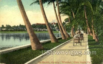Whitehall - Palm Beach, Florida FL Postcard