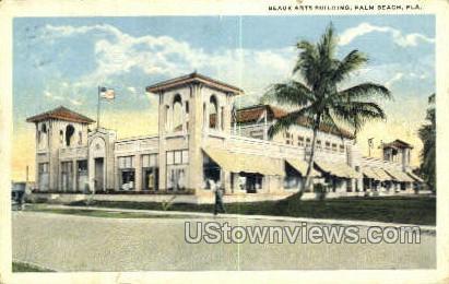Beaux Arts Building - Palm Beach, Florida FL Postcard