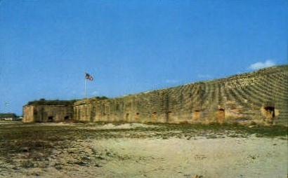 Fort Pickens - Pensacola, Florida FL Postcard