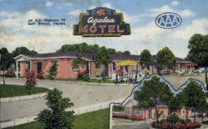 Azalea Motel - Pensacola, Florida FL Postcard