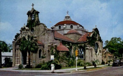Christ's Church - Pensacola, Florida FL Postcard