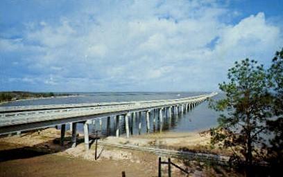 Escambia Bay - Pensacola, Florida FL Postcard