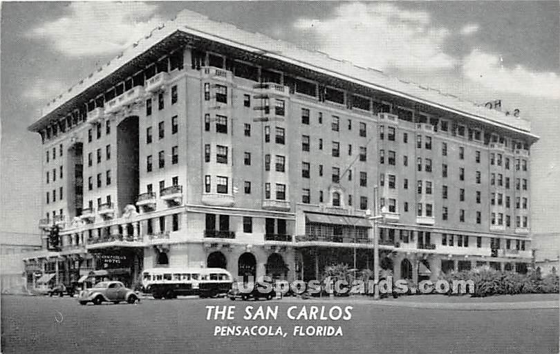 The San Carlos - Pensacola, Florida FL Postcard
