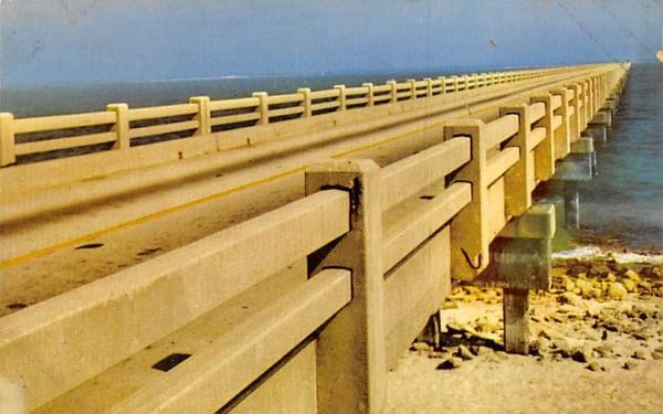 Thomas A. Johnson Bridge Pensacola, Florida Postcard
