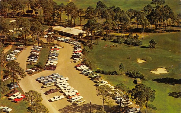 Port Charlotte Country Club Florida Postcard