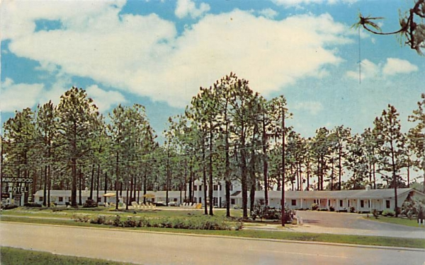Kingswood Motel Perry, Florida Postcard