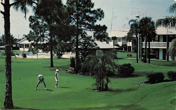 Port Charlotte Ramada Inn Florida Postcard