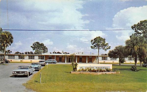 St. Joseph Hospital Port Charlotte, Florida Postcard