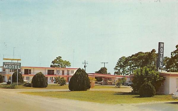 Sand Piper Motel Port Charlotte, Florida Postcard