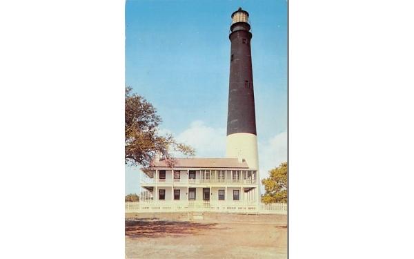 Lighthouse near Fort Barranas, U. S. Naval Air Station Pensacola, Florida Postcard