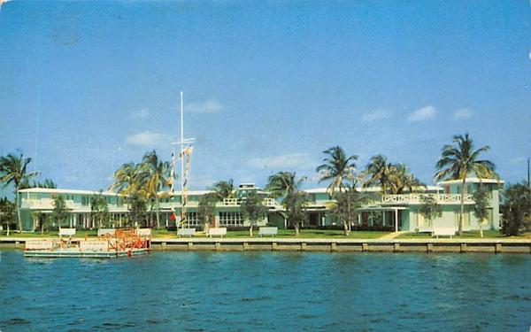 Colonnades Apartments Palm Beach Shores, Florida Postcard