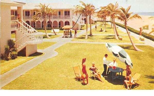The Colonnades Hotel Palm Beach Shores, Florida Postcard