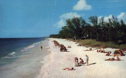 Fun, Enjoyment, and Relaxation - Naples, Florida FL Postcard