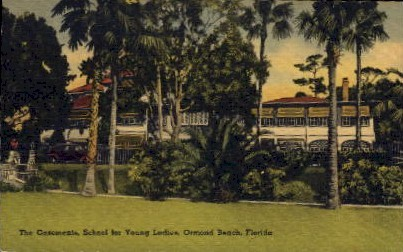 The Casements, School for Young Ladies - Ormond Beach, Florida FL Postcard