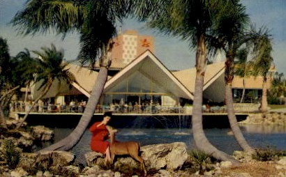 Hospitality House, Busch Gardens - Tampa, Florida FL Postcard