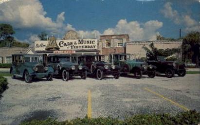 John Ringling Personal Cars - Sarasota, Florida FL Postcard