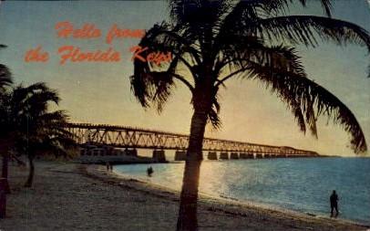 Hello from the Florida Keys - Key West Postcard