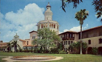 Stetson University College of Law - St Petersburg, Florida FL Postcard