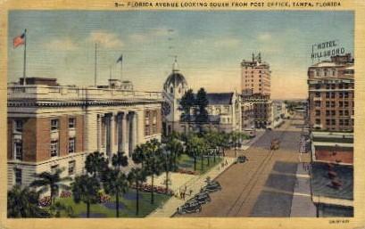 Florida Ave. - Tampa Postcard
